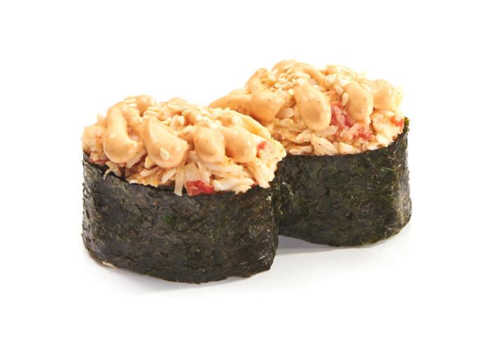 Краб спайс суши 2шт