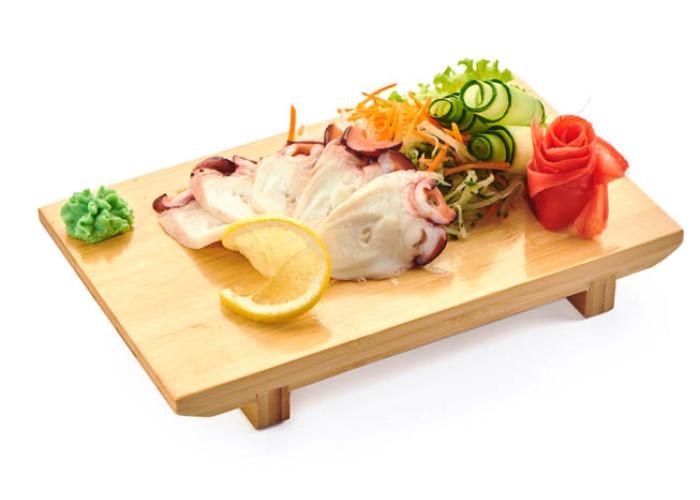 Осьминог сашими