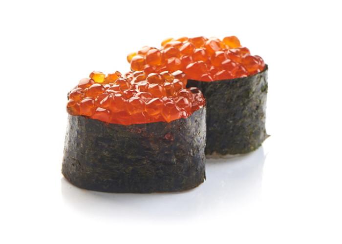 Икра лососевая суши 2шт