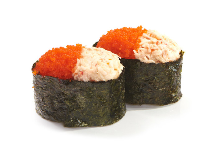 Кани тобико суши 2шт