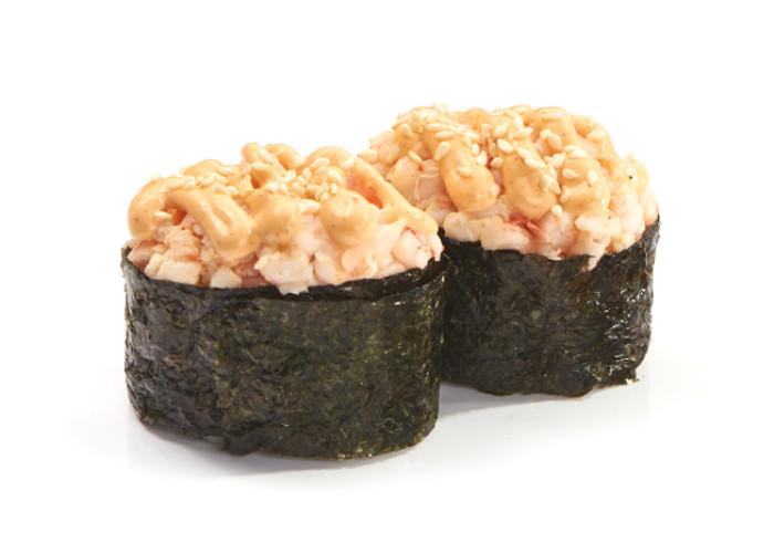 Креветка спайс суши 2шт